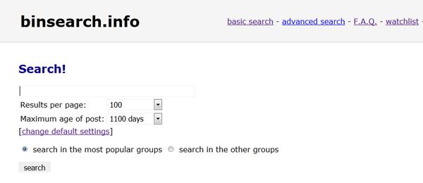 binsearch nzb-zoekmachine